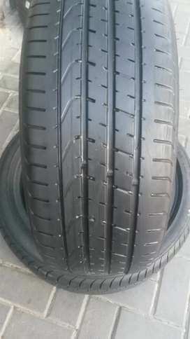 2×225/40/18 two  PZERO run tyres for sale