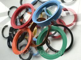 Кольца центровочни проставки адаптори для дисков титан