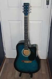 Image of Maxwell Electric Acoustic Guitar for sale with extras!