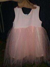 Продам очень нежное платьице для малышки на 1-1,5 года