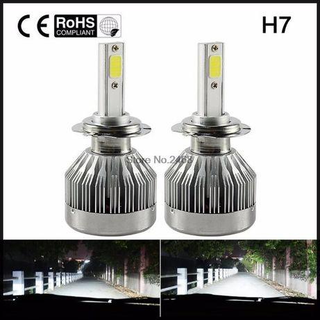 LED лампа H11 H7 H4 H27 880 ПРОТИВОТУМАНКИ ближний свет светодиодные Кривой Рог - изображение 3