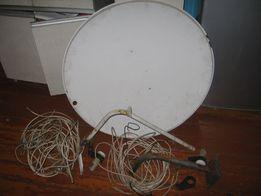 Продам спутниковую антенну со всеми комплектующими
