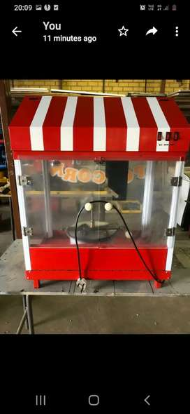 Popcorn machine 2nd hand