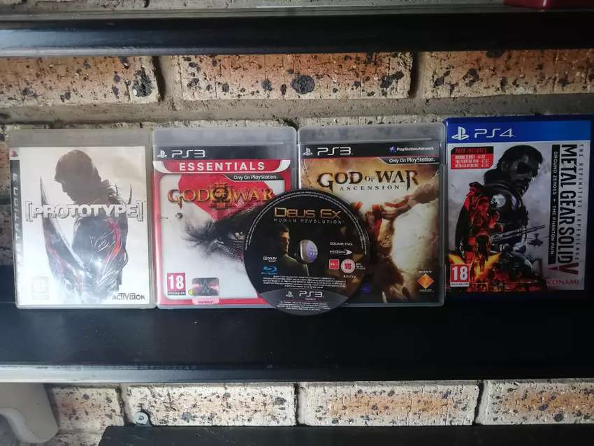 Ps3 and ps4 games for sale 0