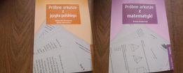 Próbne arkusze z Matematyki i Języka Polskiego