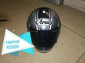 Off road Helmet and On road Arai Helmet on road