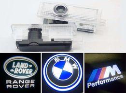 Плафон подсветка двери логотипом BMW Jaguar MINI Land Range Rover E39
