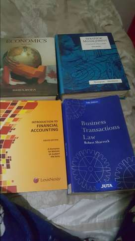 Accounting and Management books