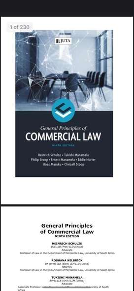 General Principles Of Commercial Law, 9th edition