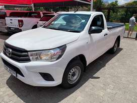 2017 Toyota Hilux 2.0 VVTi Single cab