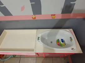 Baby cot and compactum for sale