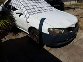 Nissan Almera selling for parts