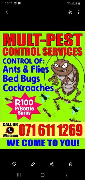PEST CONTROL - Get rid of pests, once and for all!