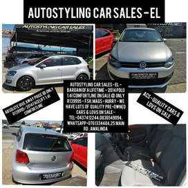 Autostyling Car Sales - EL - Bargain -2014 Polo 1.4i Comfortline