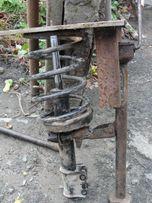 Стяжка для пружин из домкрата