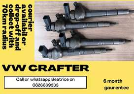 Vw crafter diesel injectors for sale