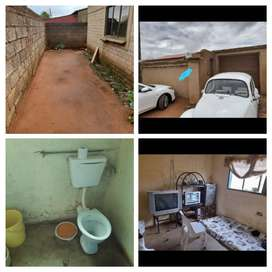 Soweto Central 4 room house to rent for R2200