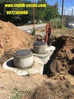 Дренажная яма с переливом.(Выгребная,Канализация) в Одессе и Области