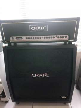 Crate Flexwave 120 h Guitar Stack Amp With Foot Pedal