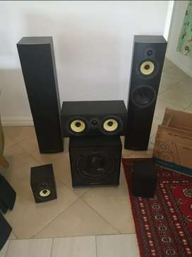 Wharfedale 5.1 Home Theater Speaker package for sale