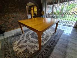 Solid Oak Table - 8 Seater