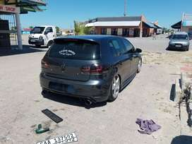 Golf 6 GTI on Air Suspension