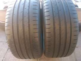 Two f30 back tyres sizes 255/35/19 Goodyear run flat now available