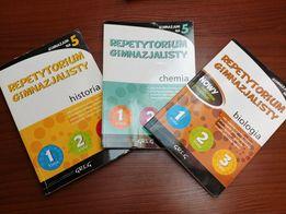 Repetytoria gimnazjalisty - biologia, chemia, historia