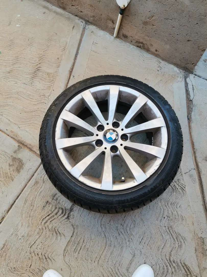 Bmw rims & tyres 17inch 0