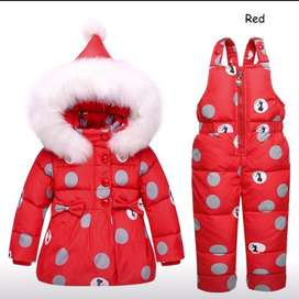 Winter toddler snowsuit set 4 SALE