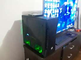 GAMING PC + LG TV 55INCH FULL HD SMART EDGE SELLING AS COMBO