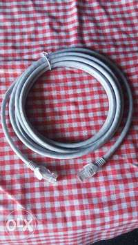 CAT internet connection cable -5M- grey 0