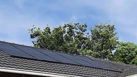 Solar panels for pools