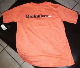 Quicksilver Youth T-shirts x 2 Brand New