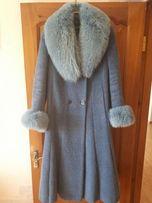 Пальто зимнее воротник - песец