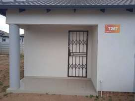 A 2 bedroom house is available to rent in crystal park