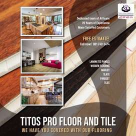 Titos Pro Floor and Tile