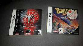 Nintendo DS games available in vgc  spiderman  Thrillvile  selling