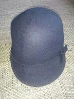 Kapelusik kapelusz granatowy dla dziewczynki