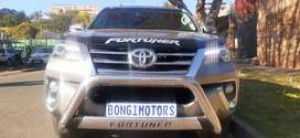 TOYOTA FORTUNER 2.4 GD6 WITH SERVICE BOOK AND SPARE KEYS