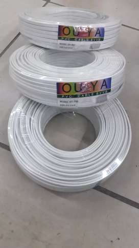2.5mm PVC Ouya 100meters for R600, cash only