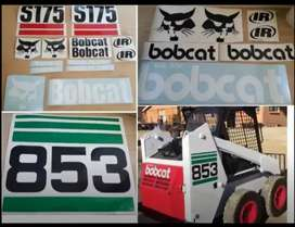 Bobcat decals stickers kits