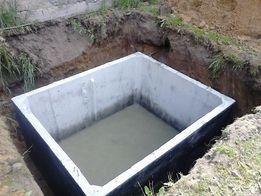 wodoszczelny zbiornik szambo betonowe 9m3 komplet dokumentów