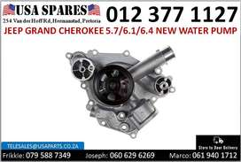 Jeep Grand Cherokee 5.7//6.1/6.4* 2005-19 new water pumps for sale