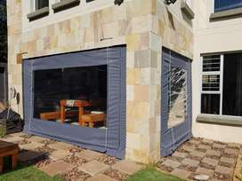 Outdoor blinds cover