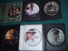 Filmy DVD - 7 tytułów.