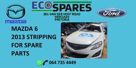 Mazda 6 2.0LF stripping for spare parts