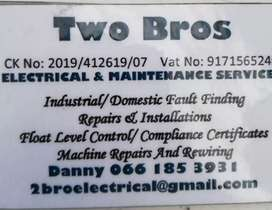 Electrical and contracting in Durban area