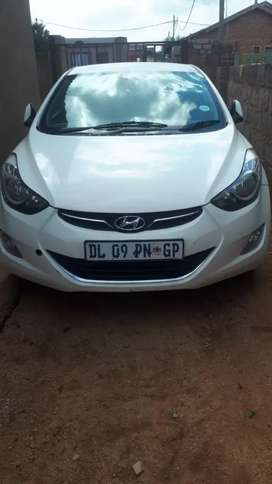 Selling  a Hyundai Elentra,in good condition,sale by owner