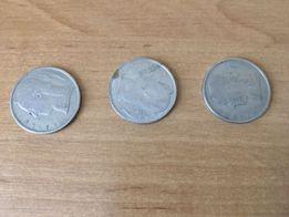 Монеты бельгийские 5 франков